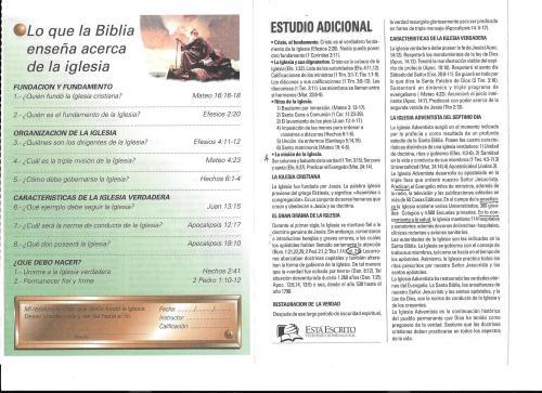 14-Lo que la Biblia enseña acerca de la iglesia-14-