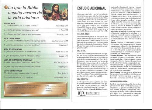 19-Lo que la Biblia enseña acerca de la vida cristiana-19-