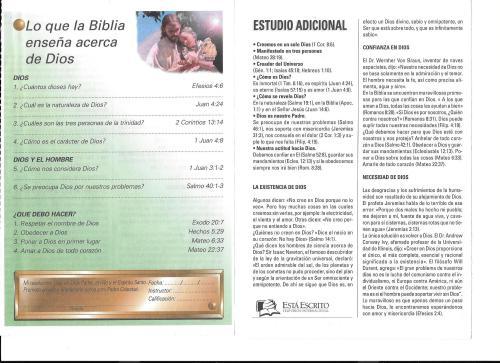 2-Lo que la Biblia enseña acerca de Dios-lección 2-