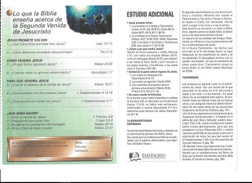 4-Lo que la Biblia enseña acerca de la Seg. Ven. de Jesucristo-4-