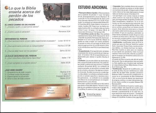 8-Lo que la Biblia enseña acerca del perdón de los pecados -8-