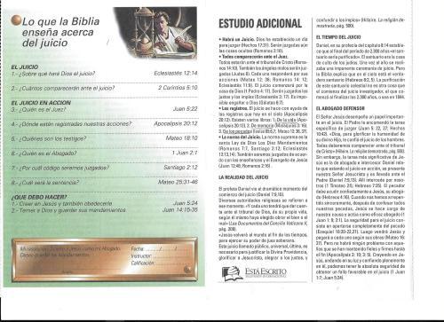 9-Lo que la Biblia enseña acerca del juicio-lección 9-